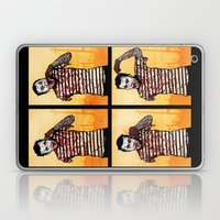 The Zombie Mime! Laptop & iPad Skin