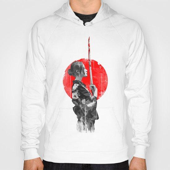 Samurai Girl Hoody