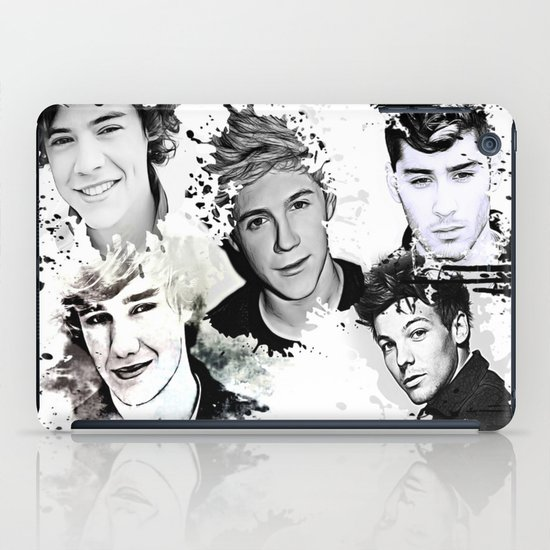 1D Splat iPad Case