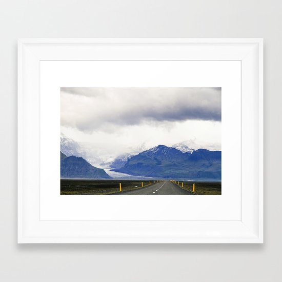 our path Framed Art Print