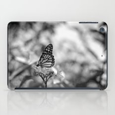 Papillion en  Noir iPad Case