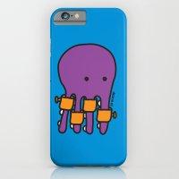 Swimming Octopus iPhone 6 Slim Case