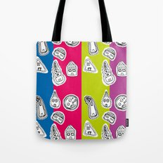 House Pattern Tote Bag