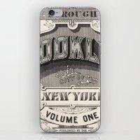 Vintage typography iPhone & iPod Skin