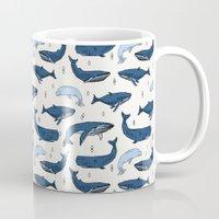 Whales By Andrea Lauren Mug