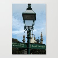 Brighton Canvas Print