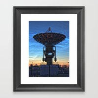 Antenna Framed Art Print