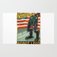 Franklin D. Roosevelt and his Amazing Robot Legs.... Rug
