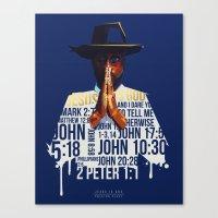 Preston Perry Jesus is God Canvas Print