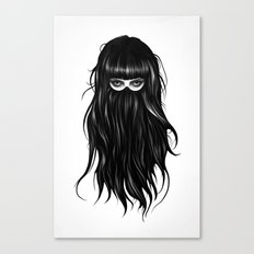 It Girl Canvas Print