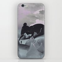 I Will Never Leave You iPhone & iPod Skin