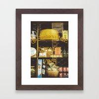 Gastronomie Italienne, V… Framed Art Print