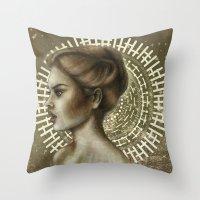 Sensual and Rational Throw Pillow