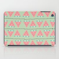 watermelon repeat iPad Case
