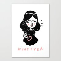 Whatever Canvas Print
