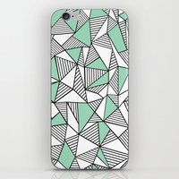 Abstraction Lines With M… iPhone & iPod Skin
