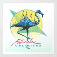 Paradise Unlimited Art Print