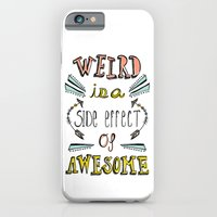 iPhone & iPod Case featuring Weird & Awesome by Heather Dutton