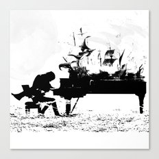 Pianist Passion Canvas Print