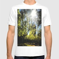 Yavneh Mens Fitted Tee White SMALL