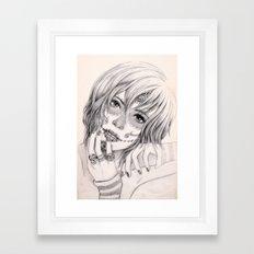 Sugar Skull Girl 2 Framed Art Print