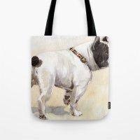 French Bulldog A050 Tote Bag