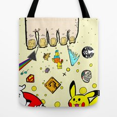 The Sand Between God's Toes Tote Bag