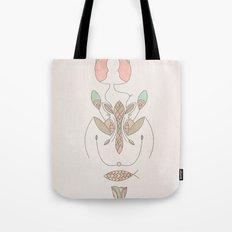 sacred molecule Tote Bag