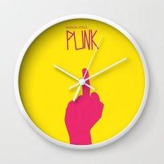 Music Signs : Punk (3/3) Wall Clock