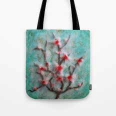 Apple Blossom Branch Tote Bag