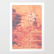 Cannon Ball Art Print