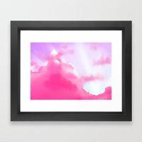Dream Clouds Framed Art Print