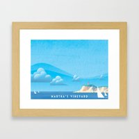 Marthas Vineyard Framed Art Print