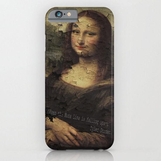 I have testicular cancer (Fight Club). iPhone & iPod Case