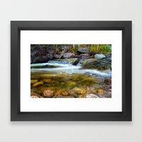 Forest Pool Framed Art Print