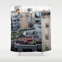 Urban Landscape 01 Shower Curtain