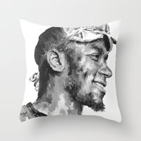Mos Def Throw Pillow