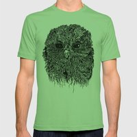 ZEUS Mens Fitted Tee Grass SMALL