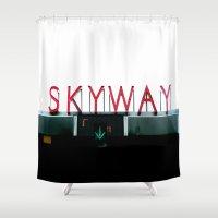 Skyway Shower Curtain