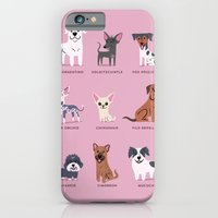 iPhone & iPod Case featuring LATIN AMERICAN DOGS by DoggieDrawings