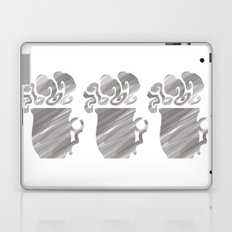 White Tea Laptop & iPad Skin