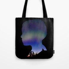Dreaming Boy Tote Bag