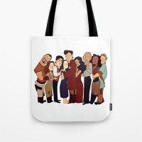 Firefly Crew Hug Tote Bag