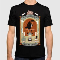 The Moving Circus Mens Fitted Tee Black SMALL