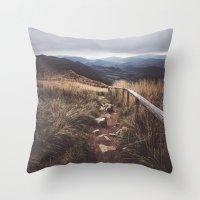 Restless Wanderer Throw Pillow
