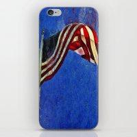 American Flag iPhone & iPod Skin