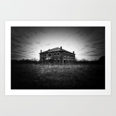 The School House Art Print