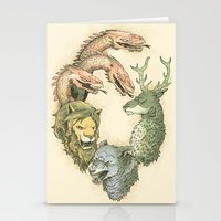fight for the throne Stationery Cards