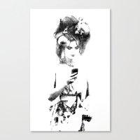 Modern Beau Canvas Print