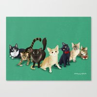 CH Kitties Canvas Print